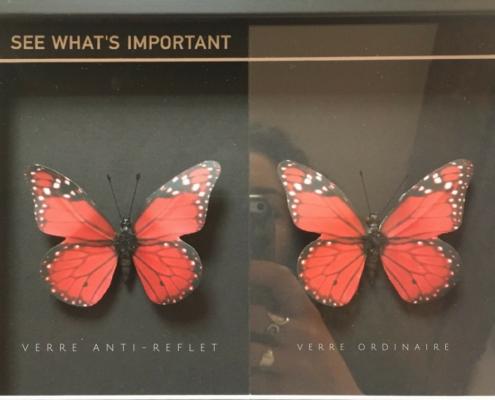 Verre anti-reflets pour oeuvres d'art ARTGLASS